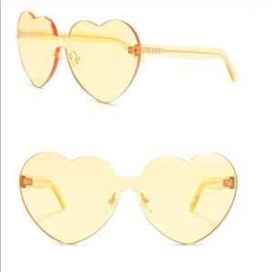 NEW! Urban Outfitters. Timeless heart sunnies